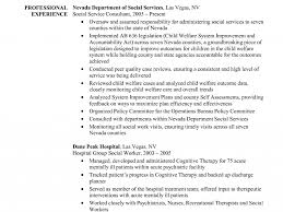 Social Services Resume Samples by Joyous Social Work Resume Examples 3 Social Worker Resume Sample
