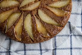 breakfast saturday buttermilk pear upside down cake u2014 edible