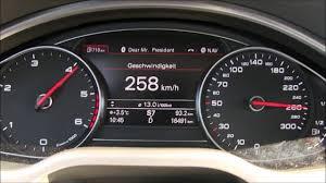 audi q7 3 0 tdi top speed 2016 audi a8 3 0 tdi quattro 262 hp top speed german autobahn