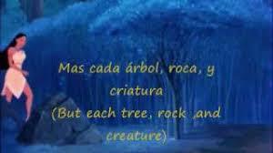 colors of the wind eu spanish subs u0026 translation youtube