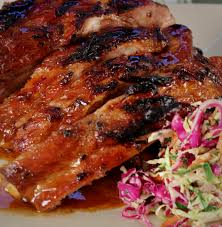 apple cider marinated pork spare ribs emerils com