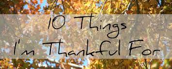 fall list 10 list 10 things i am thankful for this