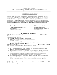 Security Clearance On Resume Ts Brookshire William Resume