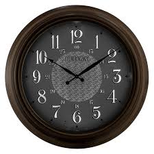 key west indoor outdoor wall clock 24