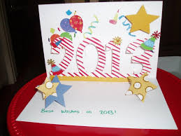 happy new year card craft projects pinterest card ideas