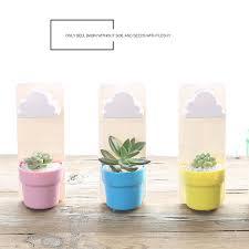 online shop 1pcs creative cloud rainy hanging plant flower pot