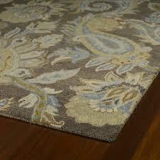 kaleen rugs christopher kashan hand tufted light brown paisley rug