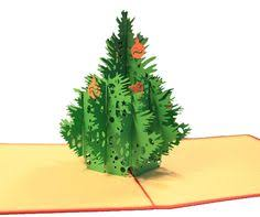 christmas tree popup card 3d cards 3d and cards