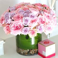 san diego flower delivery cupid 50 pink and lavender roses in san diego ca