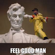Abraham Lincoln Meme - abraham lincoln getting his ears cleaned by m h m meme center