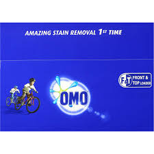 omo active clean laundry detergent washing powder front u0026 top