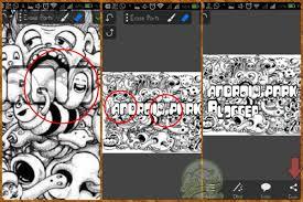 tutorial doodle art picsay pro cara membuat doodle art menggunakan picsaypro android park