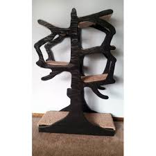 whimsical artisan handmade cat tree