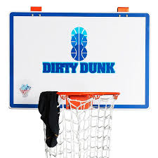 the dunk collection dirty dunk over the door basketball hoop