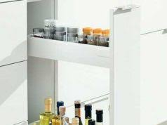 20 tall kitchen cabinet with doors for tiny kitchen