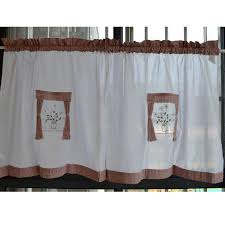 Country Style Kitchen Curtains by Online Get Cheap Country Door Curtains Aliexpress Com Alibaba Group