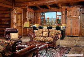 interior a cabin theme for your home decorating needs 2 of 10