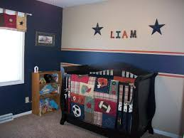 Baby Boy Nursery Bedding Set Boys Sports Bedding In A Baby Room Raindance Bed Designs
