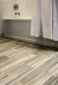 Bathroom With Wood Tile - 28 great ideas and pictures of faux wood tile in bathroom