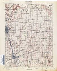 Urbana Ohio Map by Eldean Bridge Draft Nomination