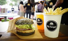 fast food cuisine my burger ส งเบอร เกอร ตามใจคนก น พล กม ต อาหารฟาสต ฟ ด
