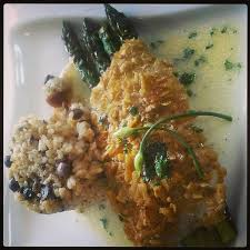 cuisiner le plantain plantain crusted grouper picture of chefs on the run assorted