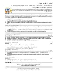 Web Design Resume Examples by Resume Website Design Free Resume Example And Writing Download