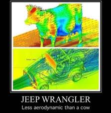 Meme Wrangler - jeep wrangler less aerodynamic than a cow meme xyz