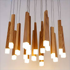 Wooden Chandelier Modern Nordic Style Wooden Chandelier Modern Personalized Decoration