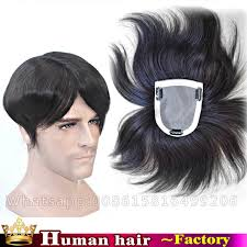 bob hair toppers hand woven hair system silk top toupee 100 human real hair