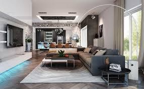 deckenlen wohnzimmer modern modernes wohnzimmer raumideen len modern attraktive le