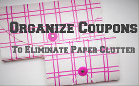 organize coupons and paper heartworkorg com organize coupons to reduce paper clutter