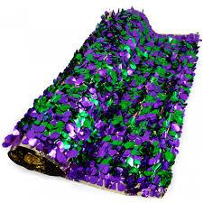 mardi gras material floral sheeting petal paper metallic mardi gras 10 yards 285503