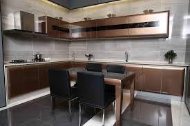 china 2015 modern rta customized lacquer handless kitchen cabinets