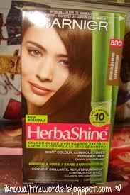 golden color shades review garnier herbashine shade 530 medium golden brown i