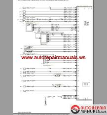ford mondeo 2008 2009 eu wiring system diagram auto repair