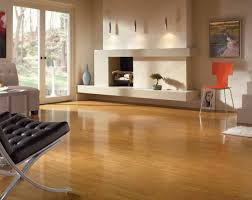 what to clean laminate wood floors with simple room scene with