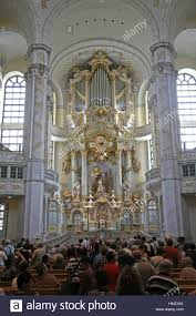 Feiges Interiors by Germany Saxony Dresden Church Our Lady Interior View Tourist
