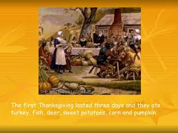 thanksgiving history presentation