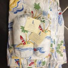 Surfer Crib Bedding Best Pottery Barn Island Surf Crib Bedding For Sale In Fort