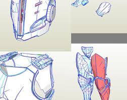 pdf template for destiny 2 titan parade helmet