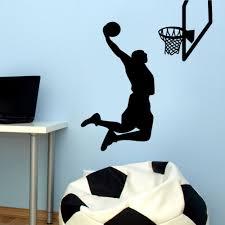 online get cheap nba wall aliexpress com alibaba group designed wallpaper sports wall sticker 2016 mvp nba basketball player lebron james sports wall stickers home