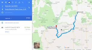 Navajo Reservation Map Race U2013 Mci Maps