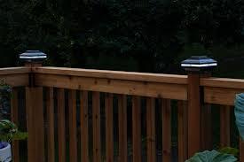 review aurora deck lighting post caps diy house help