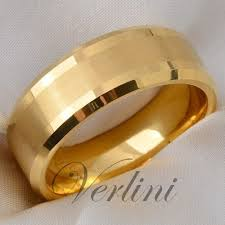 14k gold wedding band tungsten men s ring 14k gold infinity wedding band bridal jewelry