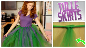 how to make tulle skirt diy no sew tulle skirt do it gurl