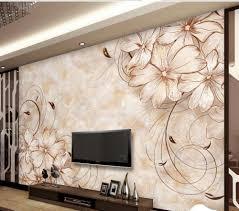 3d Wallpaper Home Decor Online Get Cheap 3d Floral Wall Murals Wallpaper Aliexpress Com