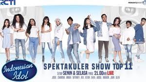 Vote Idol Tag Voting Spektakuler Show Idol 6 Kontestan Raih