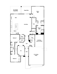 The Chandler Chicago Floor Plans by Hillary Floor Plan At Belmonte Landmark Collection In Chandler Az