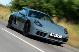 porsche graphite blue new porsche 718 cayman 2016 review auto express
